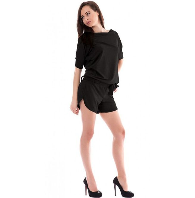 8402c6d2ae22 Black Summer Jumpsuit