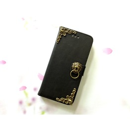Lion Leather Phone Case For I Phone Se 5s 6 6s 7 Plus Samsung S7 Edge Mn1