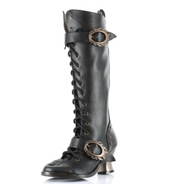 Hades Shoes Vintage Knee High Vintage Boots