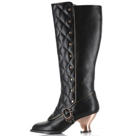 Hades Shoes Victoriana Retro Boots With Zipper