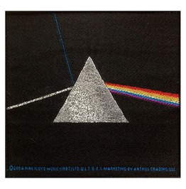 Pink Floyd Dark Side Of The Moon Patch 10cm X 10cm Approx
