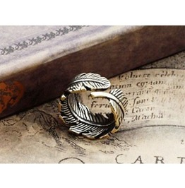 Vintage Adjustable Leaf Ring