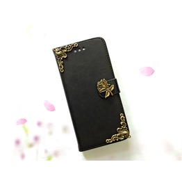 Flower Leather Phone Case For I Phone Se 5s 6 6s 7 Plus Samsung S7 Edge Mn7