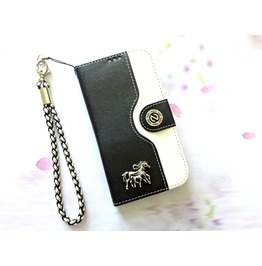 Horse Leather Phone Case For I Phone Se 5s 6 6s 7 Plus Samsung S7 Edge Mn21