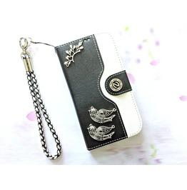 Bird Leather Phone Case For I Phone Se 5s 6 6s 7 Plus Samsung S7 Edge Mn24