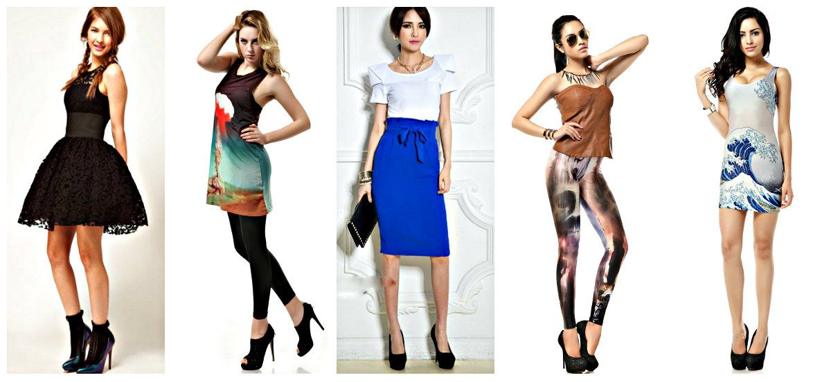 Featured store fashion apparel from smart boutique