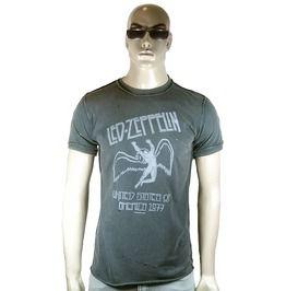 Vintage Official Led Zeppelin Merch.Us 1977 Tour Rock Star Hole T Shirt S L