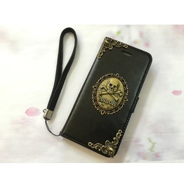 Poison Leather Phone Case For I Phone 6 6s 7 Plus Samsung Note 4 5 Mn66