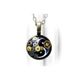 Bdsm Symbol Triskele Emblem Pendant Steampunk Necklace Submissive Slave Dom