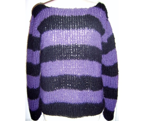 black_stripey_kurt_cobain_inspired_punk_custom_jumper_sweaters_2.JPG