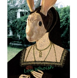 Tudor Queen Anne Bunnylen Mixed Media