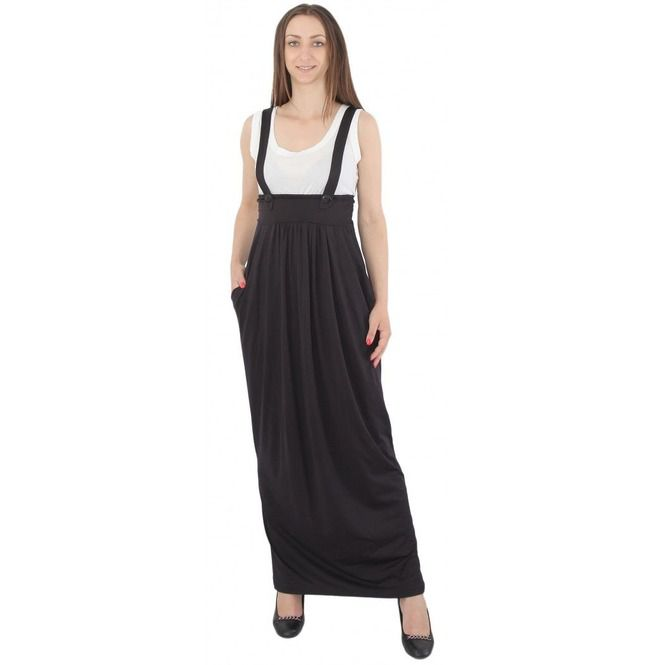 Black Overall Dress, Black Pinafore, Plus Size Pinafore, Oversize Pinafore