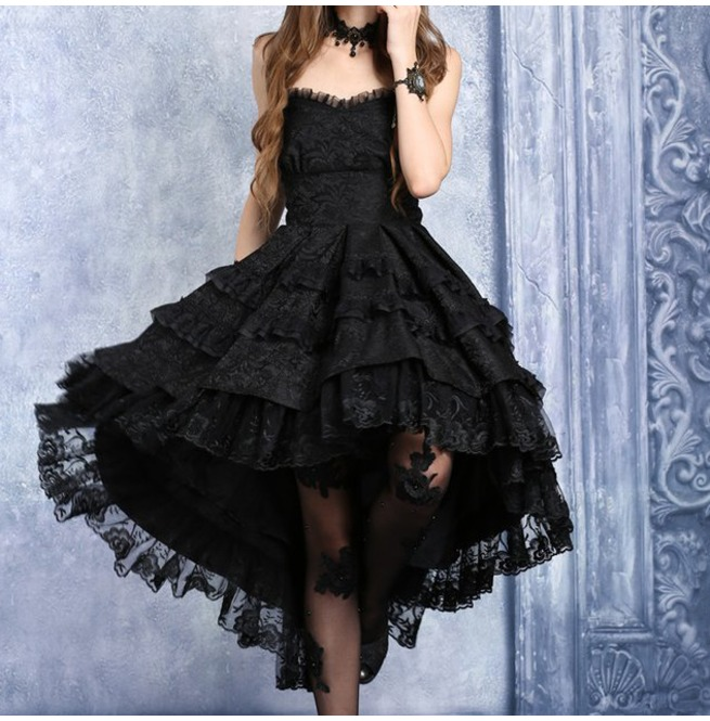 rebelsmarket_black_gothic_lolita_strapless_dove_tail_party_dress_9_to_ship_worldwide_dresses_4.jpg