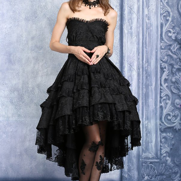 rebelsmarket_black_gothic_lolita_strapless_dove_tail_party_dress_9_to_ship_worldwide_dresses_3.jpg