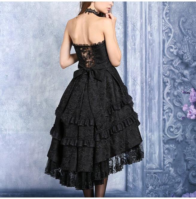 rebelsmarket_black_gothic_lolita_strapless_dove_tail_party_dress_9_to_ship_worldwide_dresses_2.jpg
