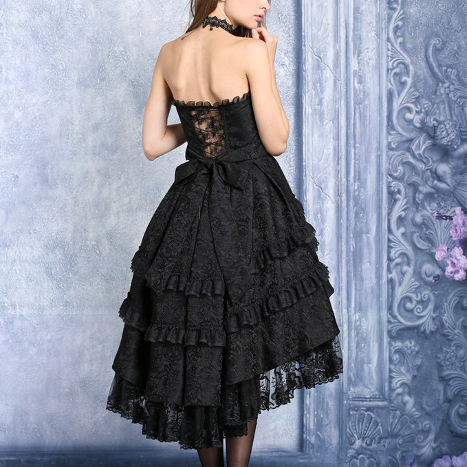 rebelsmarket_black_gothic_lolita_strapless_dove_tail_party_dress_9_to_ship_worldwide_dresses_2.jpg