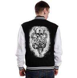 Cthulu Kraken Varsity Jacket