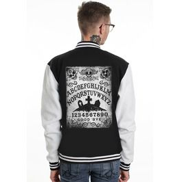 Ouija Day Of The Dead Varsity Jacket