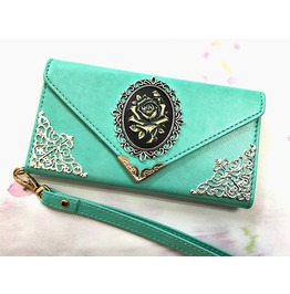 Flower Envelope Leather Phone Case For I Phone 6 6s 7 Plus Mn143