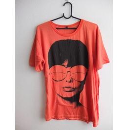 Audrey Hepburn Film Actress Icon Pink T Shirt L