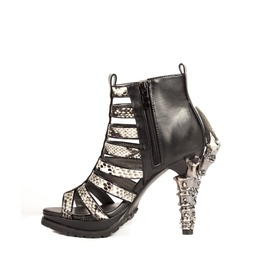 Hades Shoes Leora Fashion Mixed With Goth Inspired Heels