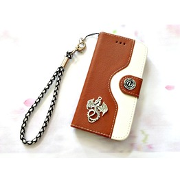 Dragon Leather Phone Case For I Phone Se 5s 6 6s 7 Plus Samsung S7 Edge Mn91