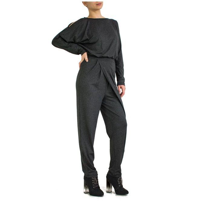 33ecb375d37 Women Jumpsuit   Romper   Loose Jumpsuit   Plus Size Jumper Mariah