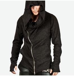 Unbeatable Style Arm Assassins Creed Diagonal Zip Hoodie Ver.2