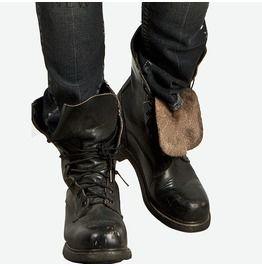 Half handmade durable badass cowhide military boots 113 mens boots