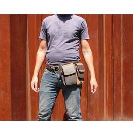 One Leaf Utility Belt Phone Case Belt Pouch X Storm (Brown)