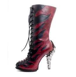 Hades Shoes Pyra Firestarter Biker Boots