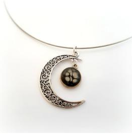 Black Moon Victorian Gothic Choker