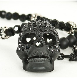 definitely necklace beaded any heads black jet turn stunning would pin this jewelry at jewellery party