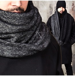 Contrast Accent Cozy Neck Warmer 04