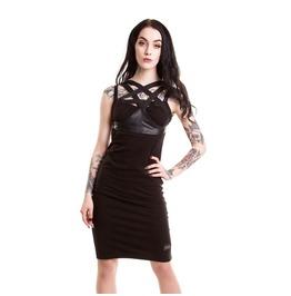 Black Toxic Dress By Vixxsin Pentagram Gothic Alternative Fashion