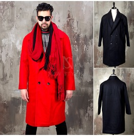 Neat Double Fashion Long Coat 125