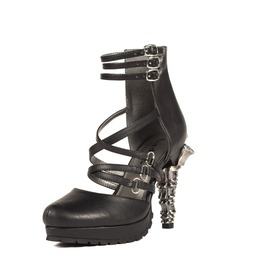 Hades Shoes Verne Goth Inspired Prehistoric Claw Heel