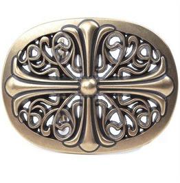 3 D Celtic Gothic Cross Belt Buckle