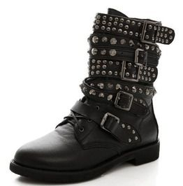 c8473df4fbe Punk Boots - Shop Men's & Women's Punk Rock Boots - RebelsMarket