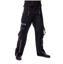 Vixxsin Clothing Viper 2 Way Pants Gothic Black Male Combats Trousers