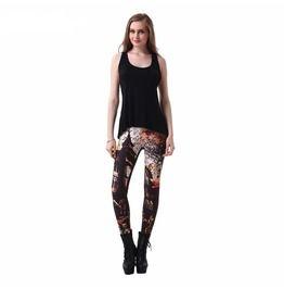 f96354121f8 Women s Sexy 3 D Haunted House Print Leggings
