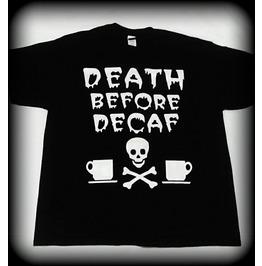 Death Before Decaf Shirt, Coffee Shirt, I Love Coffee Shirt, Coffee