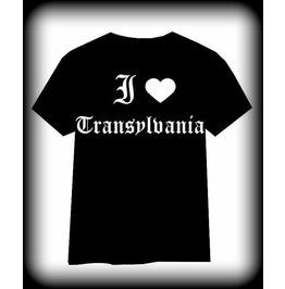 Transylvania Shirt, Goth Shirt, Vampire Shirt, Transylvania, Dracula Shirt
