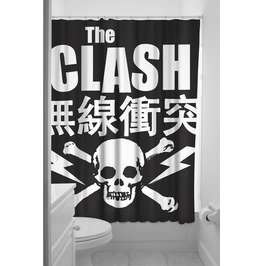 Sourpuss The Clash Shower Curtain