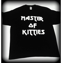 Cat Tshirt, Metallica, Master Of Kitties Shirt, Heavy Metal Shirt