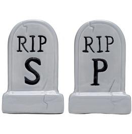Sourpuss Tombstone Salt And Pepper Shaker
