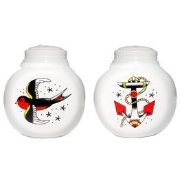 Sourpuss Anchor & Sparrow Salt & Pepper Shaker Soupcl136