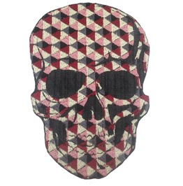 Mosaic Skull Patch Embroidered Skulls Applique Patches Embroidery Iron On