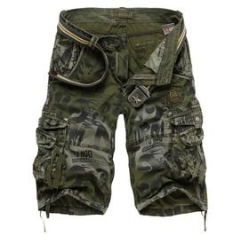 Military camouflage army bermuda cargo shorts men shorts and capris