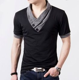 Fancy v neck cotton t shirt t shirts